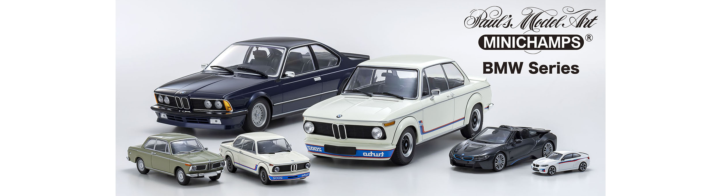 MINICHAMPS BMW 特集
