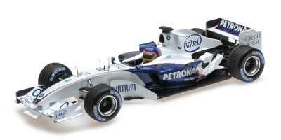 MINICHAMPS 1/18scale SAUBER BMW C24B – JACQUES VILLENEUVE – F1 TEST VALENCIA FEBRUARY 2006  [No.100060903]