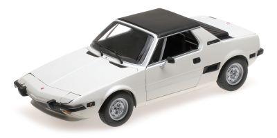 MINICHAMPS 1/18scale FIAT X1/9 – 1974 – WHITE  [No.100121665]