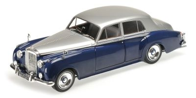 MINICHAMPS 1/18scale BENTLEY S2 – 1960 – SILVER/BLUE  [No.100139954]