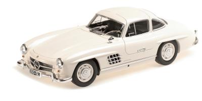 MINICHAMPS 1/18scale Mercedes Benz 300 SL 1955 White  [No.110037217]
