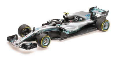 MINICHAMPS 1/18scale MERCEDES AMG PETRONAS FORMULA ONE TEAM F1 W09 EQ POWER+ – VALTTERI BOTTAS – 2018  [No.110180077]