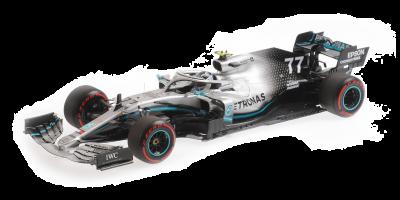 MINICHAMPS 1/18scale Mercedes AMG Petronas Motorsport F1 W10 EQ Power + Valtteri Bottas UK GP 2019  [No.110191077]