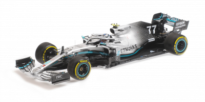 MINICHAMPS 1/18scale M-AMG Petronus W10EQ Bottas 2019 US GP Winner  [No.110191877]