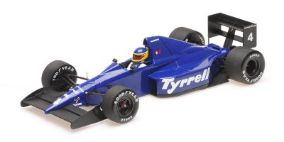 MINICHAMPS 1/18scale Tyrrell Ford 018 Michele Alboreto Mexican Grand Prix 1989 3rd place  [No.110890304]