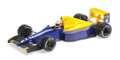 MINICHAMPS 1/18scale TYRRELL FORD 018 – JOHNNY HERBERT – BELGIAN GP 1989  [No.110891104]