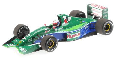 MINICHAMPS 1/18scale Jordan F191 Gashaw British GP1991 6th Place  [No.110910032]