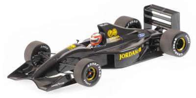 MINICHAMPS 1/18scale Jordan F 911 John Watson F1 Test Silverstone 1990  [No.110910099]