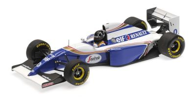 MINICHAMPS 1/18scale WILLIAMS RENAULT FW16 – DAMON HILL – 2ND PLACE BRAZILIAN GP 1994  [No.110940100]