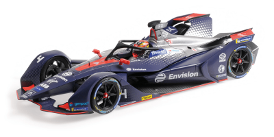 "MINICHAMPS 1/18scale Formula E Season 5 ""Envision Virgin Racing"" Robin Flynns  [No.114180004]"