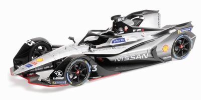 """MINICHAMPS 1/18scale Formula E Season 5 """"Nissan E. Dams"""" Sebastian Bumier  [No.114180023]"""