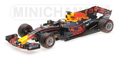 MINICHAMPS 1/18scale RED BULL RACING TAG-HEUER RB13 – DANIEL RICCIARDO – 3RD PLACE MALAYSIAN GP 2017  [No.117171503]