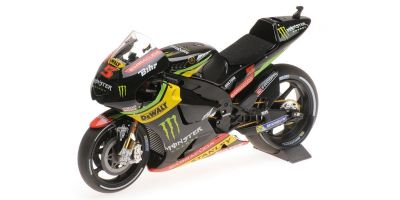 MINICHAMPS 1/12scale YAMAHA YZR-M1 – MONSTER YAMAHA TECH 3 – JOHANN ZARCO – MOTOGP 2017  [No.122173005]