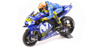 MINICHAMPS 1/12scale Yamaha YZR-M1 Rossi Mugello GP2018 with Pole Position Figure  [No.122183146]
