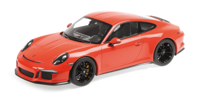 MINICHAMPS 1/12scale Porsche 911 R (2016) Mule Orange  [No.125066324]