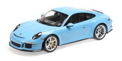 MINICHAMPS 1/12scale Porsche 911 R (2016) Gulf Blue  [No.125066325]