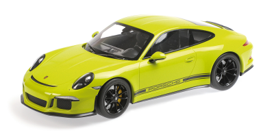 MINICHAMPS 1/12scale Porsche 911 R (2016) Light Green  [No.125066326]