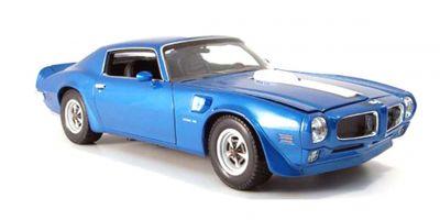 WELLY 1/18scale PONTIAC Firebird Trans-am - 1977 BLUE [No.WE12566BL]