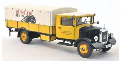"Premium ClassiXXs 1/43scale Mercedes Benz Lo 2750 pickup canvas track ""Dunlop""  [No.PCS12602]"