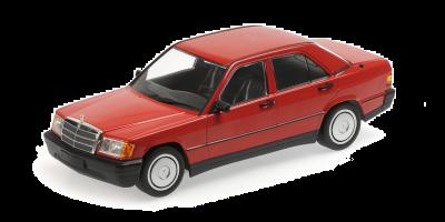 MINICHAMPS 1/18scale Mercedes Benz 190E (W201) 1982 Red  [No.155037000]