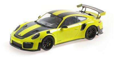 MINICHAMPS 1/18scale Porsche 911 (991.2) GT2RS 2018 Weissach Package Green / Black Magnesium Wheels  [No.155068300]