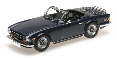 MINICHAMPS 1/18scale TRIUMPH TR6 – 1973 – DARK BLUE (LHD)  [No.155132032]