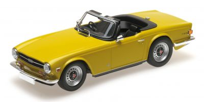 MINICHAMPS 1/18scale TRIUMPH TR6 – 1973 – YELLOW (RHD)  [No.155132034]