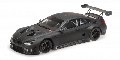 MINICHAMPS 1/18scale BMW M6 GT3 Plain Body 2016 Matte Black  [No.155162610]
