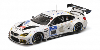 MINICHAMPS 1/18scale BMW M6 GT3 #100 Nürburgring 24h2016  [No.155162611]