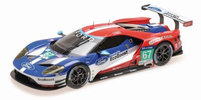 "MINICHAMPS 1/18scale Ford GT ""CHIP GANASSI RACING UK"" FRANCHITTI / PRIAULX / TINCKNELL 24h Le Mans 2016  [No.155168667]"