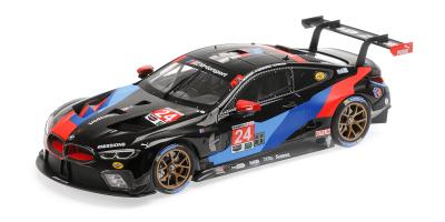 """MINICHAMPS 1/18scale BMW M8 GTE """"BMW TEAM RLL"""" EDWARDS / KROHN / MOSTERT # 24 Petit Le Mans 2018 GTLM Class 3rd Prize  [No.155182924]"""