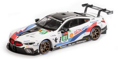 """MINICHAMPS 1/18scale BMW M8 GTE """"BMW TEAM MTEK"""" TOMCZYK / CATSBURG / ENG # 81 24H Le Mans 2018  [No.155182981]"""