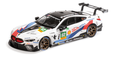 "MINICHAMPS 1/18scale BMW M8 GTE ""BMW TEAM MTEK"" BLOMQVIST / DA COSTA # 82 Fuji 6 hours endurance race 2018 LMGTE Pro class 2nd place  [No.155182982]"