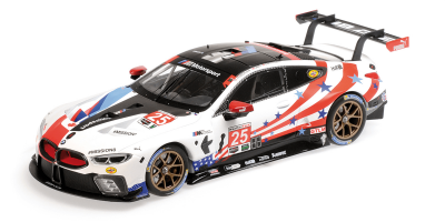 "MINICHAMPS 1/18scale BMW M8 GTE ""BMW TEAM RLL"" AUBERLEIN / SIMS / DE PHILLIPPI # 25 6H Watkins Glen 2018  [No.155182995]"