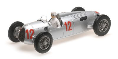 MINICHAMPS 1/18scale AUTO UNION TYP C – HANS STUCK – BUDAPEST GRAND PRIX 1936  [No.155361012]