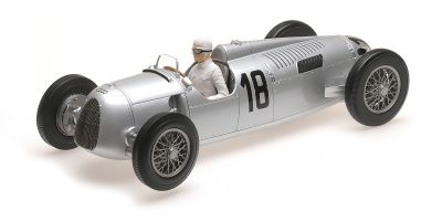 MINICHAMPS 1/18scale AUTO UNION TYP C – BERND ROSEMEYER – WINNER INTERNATIONALES EIFELRENNEN 1936  [No.155361018]