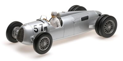 MINICHAMPS 1/18scale AUTO UNION TYP C – HANS STUCK – WINNER SHELSLEY WALSH HILLCLIMB 1936  [No.155361057]