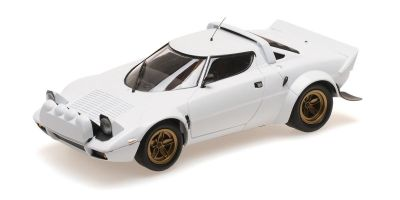 MINICHAMPS 1/18scale LANCIA STRATOS – 1974 – WHITE  [No.155741700]