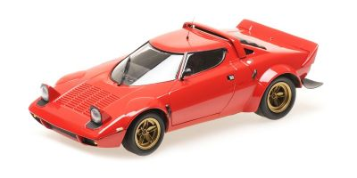 MINICHAMPS 1/18scale LANCIA STRATOS – 1974 – RED  [No.155741701]