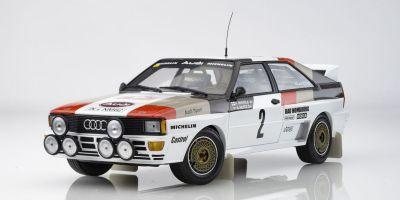 MINICHAMPS 1/18scale AUDI QUATTRO A1 - AUDI SPORT - MIKKOLA/HERTZ - RALLYE AUTOMOBILE DE MONTE CARLO 1983  [No.155831102]
