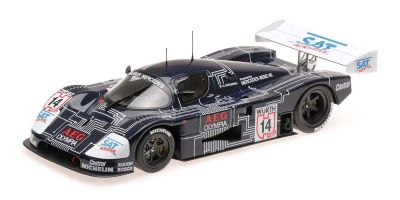 MINICHAMPS 1/18scale Sauber Mercedes C9 # 14 JEAN LOUIS SCHLESSER Super Cup 1988 Winner  [No.155883514]