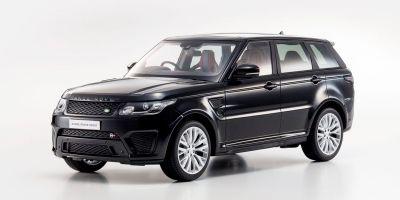 OUSIA 1/18scale Range Rover Sport SVR Black  [No.KSC09542BK]