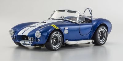 KYOSHO 1/18scale Shelby Cobra 427S/C Blue with Yellow line [No.KS08045BLY]