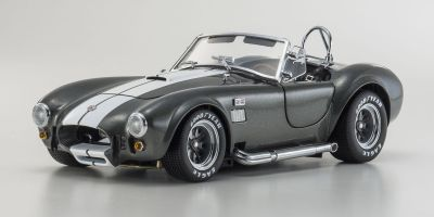 KYOSHO 1/18scale Shelby Cobra 427S/C Gray with White line [No.KS08045GRW]