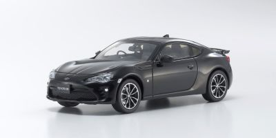 KYOSHO 1/43scale Toyota 86 GT-Limited 2016 Crystal Black Silica  [No.KS03895CBK]