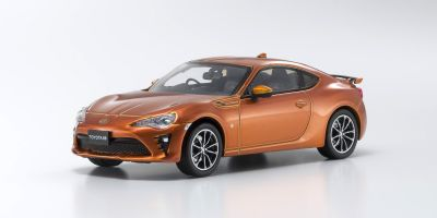 KYOSHO 1/43scale Toyota 86 GT-Limited 2016 Orange Metallic  [No.KS03895P]
