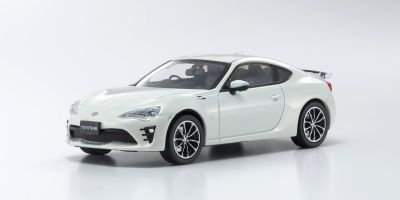 KYOSHO 1/43scale Toyota 86 GT-Limited 2016 Crystal White Pearl  [No.KS03895CW]