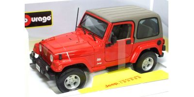 Bburago 1/18scale JEEP WRANGLER SAHARA Red [No.18-12014R]