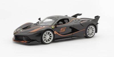 Bburago 1/18scale FXX-K No.5 (Black)  [No.18-16010BK]