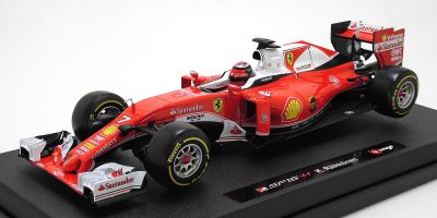 Bburago 1/18scale Ferrari F1 2016 Kimi Raikkonen  [No.18-16802-7]